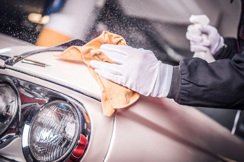Car Body Paint Restoration
